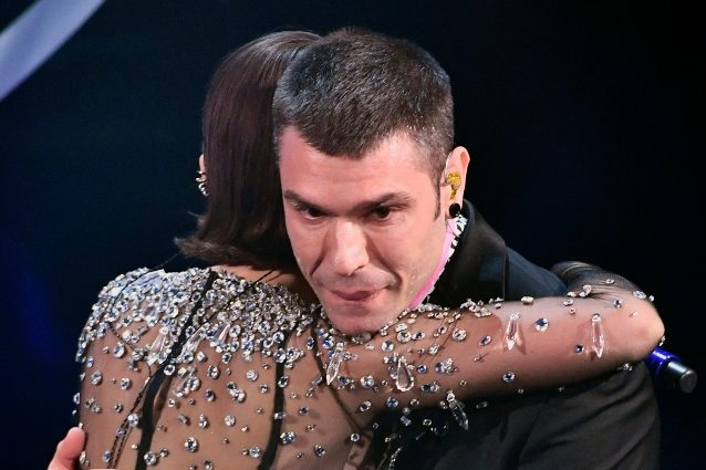 L'emozione di Fedez e l'abbraccio con Francesca Michielin - Fonte TV Fanpage