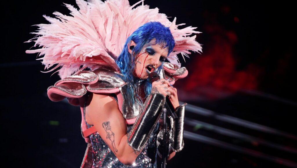 Achille Lauro, Prima serata Festival di Sanremo 2021 - Fonte Repubblica.it